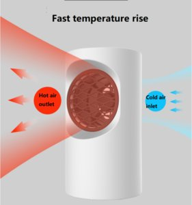 Smart Electric Heaters 220V 400W Portable Warmer, Quick- Heating Handy Machine For Home Office, Winter Mini Fan-Heater