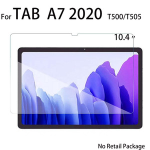 Tablet Tempered Glass Screen Protector For Samsung Galaxy TAB A7 2020)T500 T505 10.4 inch protective glass in opp bag no retail pack