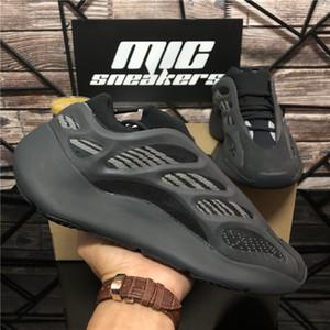 De calidad superior Arzareth Srphym Kanye West 700 V2 V3 Hombres Wemen de los zapatos corrientes Azael Alvah Eremiel espuma Runner Triple Black deportes para hombre zapatillas de deporte