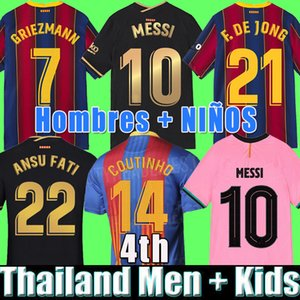 Thai Quality 20 21 Jerseys de football 2020 2021 Kit de football Chemises Hommes + Enfants Tops Uniformes