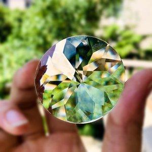 45mm redondo claro prismas de cristal florescer pingentes pendentes pendurados para peças de candelabro diy home decoração de casamento acessórios h jllmkf