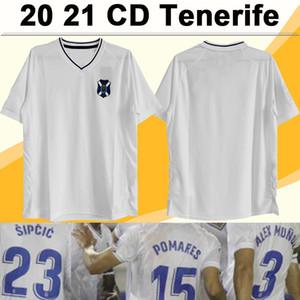 20 21 CD Tenerife mens futebol camisolas suso n.t. L. Milla J. Naranjo Casa Camisa de Futebol Bermejo Pomares Pomares Adult Manga Curta Uniformes