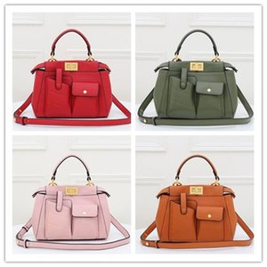 New ladies fashion handbag large capacity can hold tablet computer with key small bag casual business shoulder bag Totes bag wallet