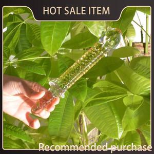 Femme Crystal pour Couples Glass Shop Man Sex Toys Dildos Glas Erotik Adult Sex Toys verre Produits réalistes pénis Dildo Dick Y18110504 Cubq