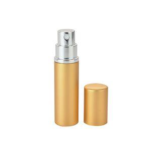 Portable Mul-color خالية رذاذ زجاجة العطور 5 ملليلتر الألومنيوم بأكسيد مدمج العطور العطور العطر فارغة الزجاج رائحة زجاجة EEB4262