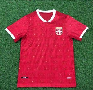 Thailandia 2021 Serbia Home Home Red Soccer Jersey 20 21 Srbija Away Mitrovic Tadic Kolarov Sergej Matic Kostic Ivanovic Camiccia da calcio uniforme