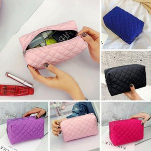 Multifunction Purse Makeup Cosmetic Bag Waterproof Nylon Clutch Handbag Toiletry Case Pouch Outdoor Travel Portable Storage Bag
