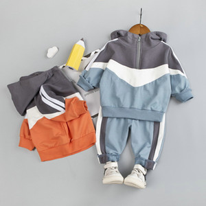 2PCS Boys Outfits Baby Boy Clothes For Kids Clothing Toddler Child Casual Sports Suit Children Clothes
