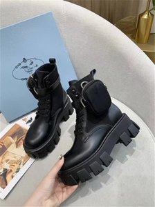 Fashion Designer Womens Shoes Bottom High Heels Nude Black Leather Pointed Toes Pumps Pra̴da Dress Shoes Mid Heeled Shoes nbhhhhh