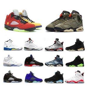 2020 DMP 6 6s Мужские Баскетбольные Обувь Альтернативный HAERE UNC Тренировки Тренировки вымытые Джинсовые Черные Инфракрасные Спортивные Кроссовки