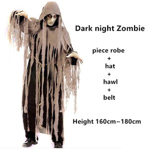 2020 fashion Men Women Halloween Hooded Patchwork halloween costumes for adults Party Costume Femme halloween costumes Deguisement