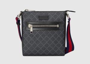 Homens Clássicos Um Saco de Ombro Cross Bag Mensageiro Pequeno Mensageiro Saco De Designer de Luxo, Tamanho: 21 * 23.5 * 4.5cm, Frete Grátis, 523599