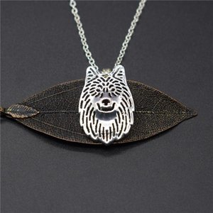 Elfin New Arrival Wolf Necklaces High Quality Trendy Wolf Pendant Necklaces Women Jewellery Female Male Gift