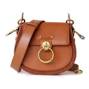 Sac de luxe pour femme pour 2020 design de marque Sacs Saddle Sacs En Cuir Sac Bandoulière Bague de mode Sac à bandoulière Vintage Sac à main Vintage
