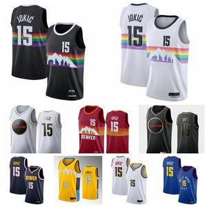 2021 Michael 1 Porter Jr. Bol 10 Bol Nikola 15 Jersey Jokey Basketball Jamal 27 Murray Jerseys Gary 14 Harris Mesh Paul 4 Millsap Jersey