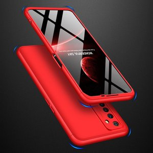 For OPPO Realme 6 Mobile Phone Back Cover 360 Degree Full Protection Phone Case PC Shockproof Protection Shell Multi Colors