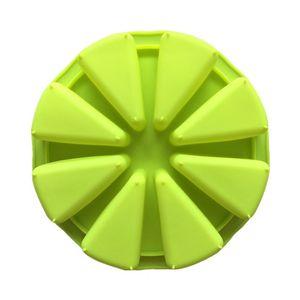 DIY 8 баллов Силиконовые формы Pizza блюдо оранжевые формы формы формы для выпечки Торт формы зеленый цвет горячая распродажа 6 5xw j1