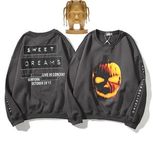 2020 Männer Hip-Hop Travis Scott Halloween süße Träume Hoodie cottom Pullover für Männer Wintermäntel T-Shirt Frauen der Männer Designer Sweater mit Kapuze