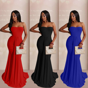 Grande taille femmes sexy robe robe robe de soirée robe de longueur haute taille