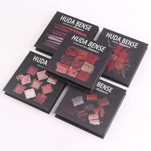 Spot Makeup New HUDA BENSE Eye Shadow Waterproof Multicolor goods beautyful Matt Pearlescent Nine-color Hot-selling Diamond Disk