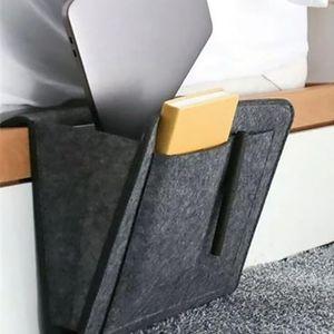 Remote Control Hanging Caddy Bedside Couch Storage Organizer Bed Holder Pockets Bed Pocket Sofa Organizer Pockets Book Holder