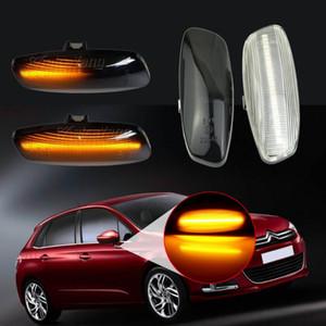 Dynamische LED-Seitenmarkierungsleuchte Signal Blinker für C4 Coupe Picasso C3 C5 X7 DS3 DS4 207 308 3008 5008 RCZ Partner