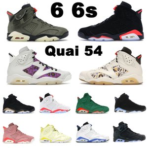 6 6s Jumpman basketball retro shoes Sail Brown Black Infrared 23 White Sport Blue UNC Hare women mens trainers outdoors sports sneakers