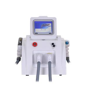 Taşınabilir Çok Fonksiyonlu Lazer Epilasyon Güzellik Makinası Lazer IPL Shr Nd YAG Kalıcı q Anahtarı Dövme Silme
