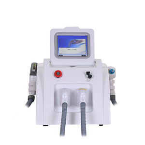 Portátil Depilação a laser multifuncional beleza máquina Laser IPL Shr Nd Yag Permanente q Interruptor de Tattoo Removal