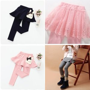 Base Culotte Fashion Soft Rabbit Lace Pantskirt Polychromatic New Children Woman Divided Skirt Various Styles 14 5jl K2