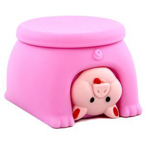 Suplemento alimentar de armazenamento Baby Box Fruit Food Durable Conveniente transparente fácil de transportar estilo animal de Segurança