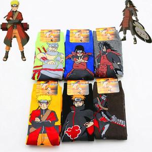 Articoli da regalo Naruto Uzumaki Naruto Cosplay Props calzino Anime Pein Uchiha Madara Primavera Autunno Calze Donna Halloween Party Men