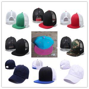 2021 new Adjustable Snapbacks Baseball Cap Hats,Blank mesh hip hop gorras gorro toca toucas bone aba reta rap Snapback Hats