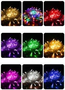 Sky Star Copper LED lights String Stars LED Flash Fiber Solar Festival Christmas Lights Tree Decoration Thanksgiving Christmas Decorations