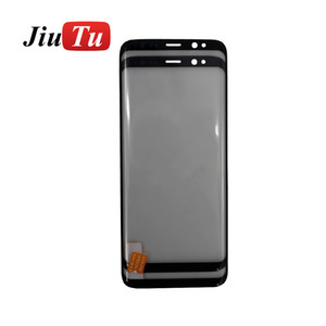 Original Front Glass With OCA Lens Outer Glass Repair For Samsung S9 S9 Plus S8 S8 Plus S7 Edge Screen LCD Refurbish