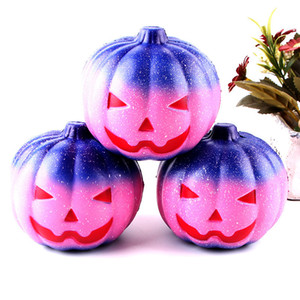 11cm Halloween Gift Lovely Squishy Slow Rising Squeeze Elastic Bread Charm Stress Relief Toys Party Favor AAB1042