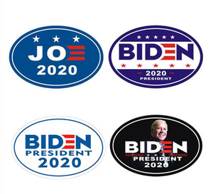 Fridge Magnet Biden President 2020 Magnetic Bumper Car Sticker Waterproof Decal Presidential Election fridge magnet Kitchen Tools BWD213