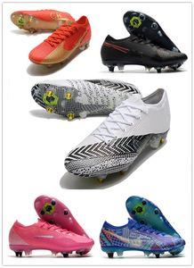 2020 رجل Mercurial 13 XIII النخبة SG-PRO AC CR7 رونالدو NJR نيمار جونس نساء بنين أحذية كرة القدم أحذية كرة القدم المرابط US6.5-11