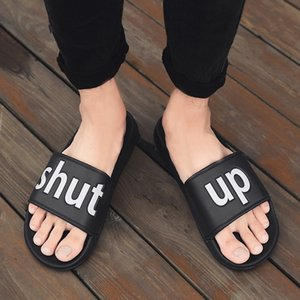 AODLEE Men Slippers Big Size 36-46 Mens Shoes Casual Breathable Beach Sandals Slippers Wedge Black White Flip Flops Men Slides Y200107