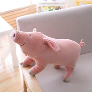 여자를위한 Miaoowa 1 개 25cm 귀여운 만화 봉제 인형 소프트 동물 돼지 인형 어린이 어린이 장난감 가와이이 선물