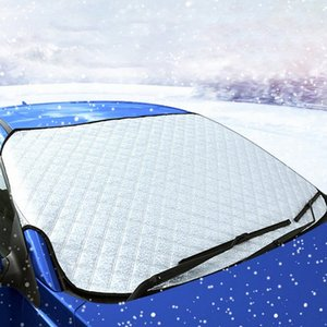 Universal 4 Seasons Car Front Windshield Anti Snow Ice Shield Cover Frost Protector Front Window Screen Auto Sun Cover Car Cover Hail kuzq#