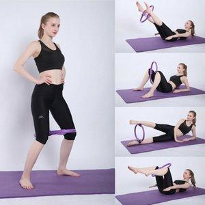 Círculos Yoga Pilates anel duplo aperto Círculo das senhoras Magia Casual Corpo Exercício da aptidão de peso Yoga Tool Kit