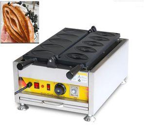 Бесплатная Доставка Коммерческая Нержавеющая Сталь Новая Девушка Vangina Waffle Maker Electric Waffle Parting Machine Pussy Machine1