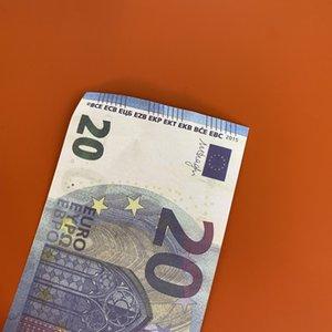 Copia Prop O Billete de Billetes / Niños / Euro / Dólar La mayoría de los EE. UU. Papel Dinero 100pcs / Pack juego Familia Realista Toy268 GIHOA