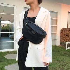 Mabula 2021 Grandi pacchi di petto in pelle di grande capacità per le donne di alta qualità impermeabile in vita pack casual all'aperto borse sportive borsa
