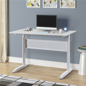 US STOCK Office Desk Adjustable Height Standing Desk with Crank Handle Home Desk Fast Shipping