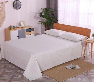 Lençóis Conjuntos Folha plana de terra aterrada com 2 cases Prata Condutora Tecido para cama Bacteriostática