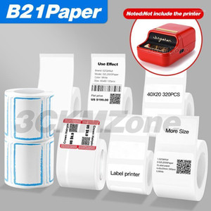 Various sizes of thermal sticker labels White label Waterproof oil-proof label paper Jewelry retail store sticker paper1