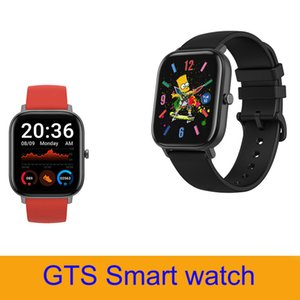 Top sell GTS android smart watch bracelet with heart rate sleeping tracker outdoor sport smartwatch with retail package PK T500 W26 bands