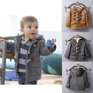 Benemaker Baby Winter Jacket For Girl Boy Fleece Windbreaker Children Clothing Thick Wool Coat Tollder Kid Clothes Outwear JH090 201109